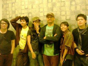 l to r: Mondo Gascaro, Christo Putra, Mian Meuthia, Pugar Restu julian, Mahadevi Krishnaphari, Hideki Taro